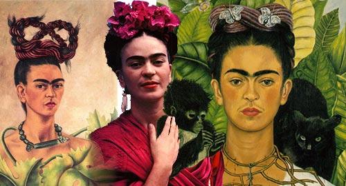 Activités enfants autour de la peinture de Frida Kahlo