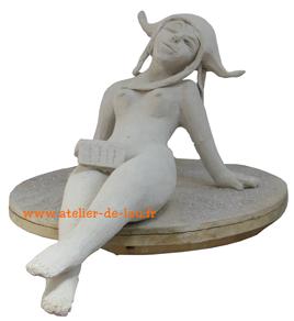 statue en argile