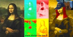 La joconde - atelier de lou - Reims
