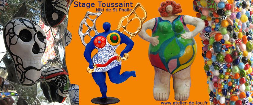 Activités art plastique enfant : sculpture niki de saint phalle