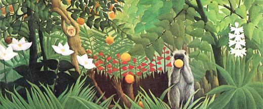peinture enfant - Douanier Rousseau