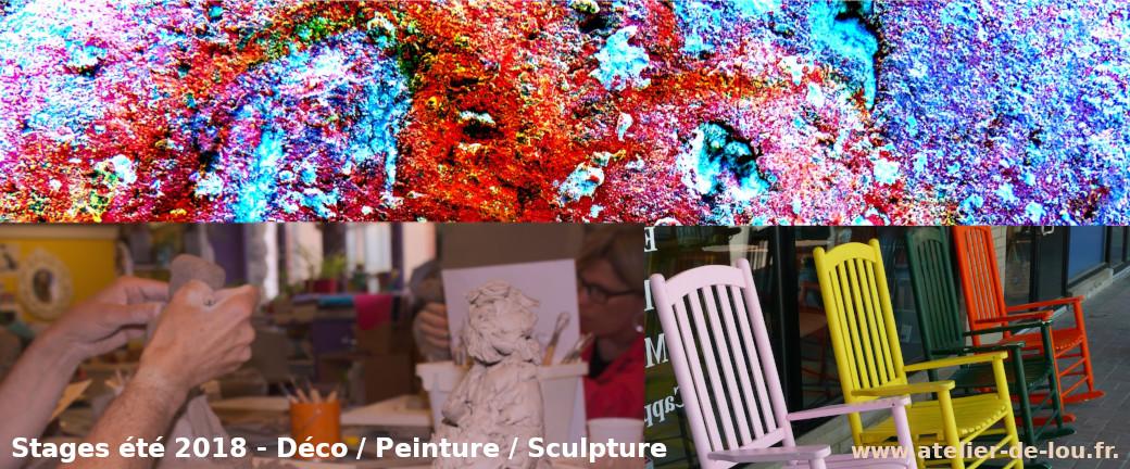 stage décoration et art aplliqué pour adultes à Reims