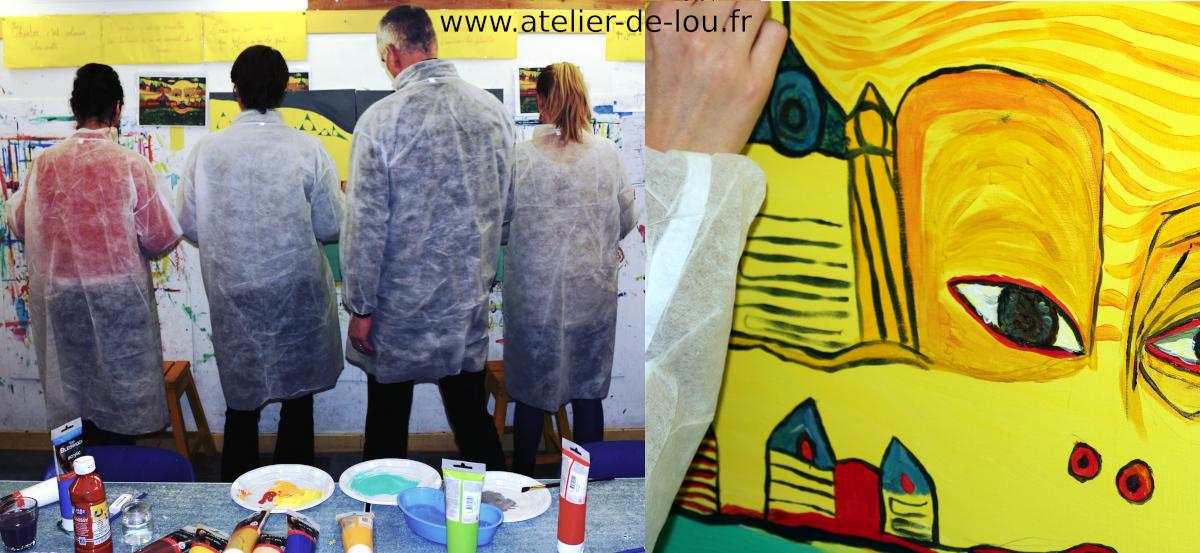 teambuilding art et peinture