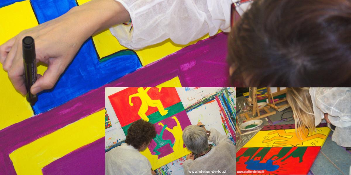 teambuilding à Reims dessin / peinture